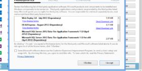 WebMatrix3 Instalar en Windows 8