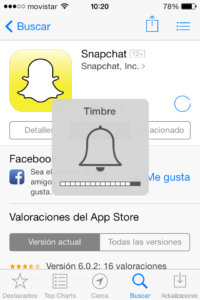 Snapchat aplicación para Ipad Iphone