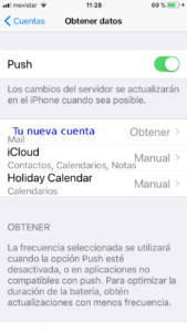 Configurar Mail Iphone 6s -11