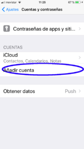 Configurar Mail Iphone 6s -2