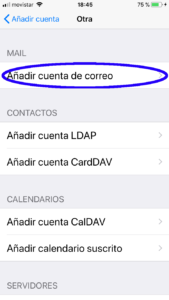 Configurar Mail Iphone 6s -4